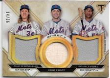2017 Triple Threads Relic Combos #TTRC-SWC Syndergaard/Wright/Cespedes /36 Mets