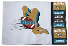 NEW Personalized NFL Jacksonville Jaguars Football Pillowcase Toddler, Standard