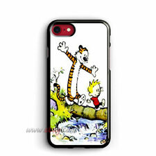 Calvin and Hobbes iphone 8 plus Cases Samsung Cases Cartoon iphone X Cases