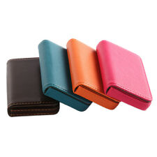 New Pocket PU Leather Business ID Credit Card Holder Case Wallet Cool AB