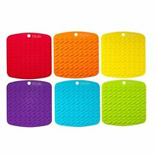 Premium Silicone Pot Holder Trivets Hot Mitts Spoon Rest And Garlic Peeler Non