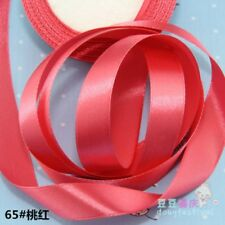 2cm 25 Yards Silk Satin Ribbon Wedding Party Decor Wrapping Christmas Apparel