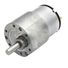 Electric Gearbox Replacement DC Gear Motor 37mm Gear Motor 6V 10RPM-1280RPM