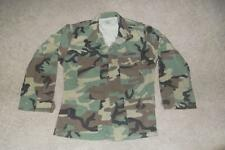 Military BDU Medium Sht Shirt Vietnam ARMY USAF NAVY Hunting Work Men Boys 255C