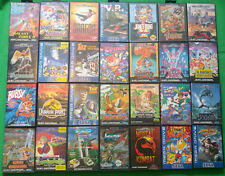 Sega Megadrive 1 2 Games Cartridge Boxed Collection *Choose Yourself*