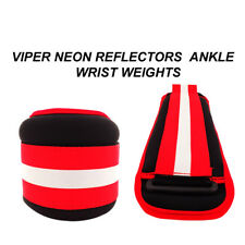 Ankle Wrist Weights Exercise Fitness Gym Resistance Training Neon Reflector Yoga