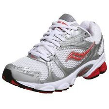 SAUCONY Women's Pro Grid Ignition •White/Pink/Silver• Running Shoe