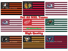 Full US National Hockey League NHL Team Poster Banner Flag 3x5 ft High Quality