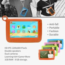 """Android Tablet For Kids 7"""" Tablet PC 512MB 4G A33 Quad Core Learning Tools  SM"""