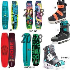 Pro WAKEBOARD PACKAGE Hyperlite , Liquid Force , Slingshot , Jobe