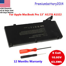 """Lot New A1322 Battery For Apple Unibody MacBook Pro 13"""" A1278 661-5229 661-5557"""