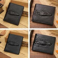 Retro New Men's PU Leather Credit Card Cash Coin ID Wallet Purse
