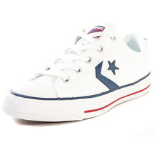 Converse Star Player Ox Unisex Trainers White Navy New Shoes