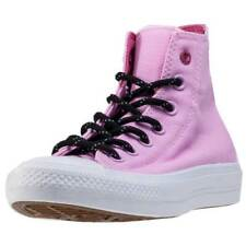Converse Ctas Ii Hi Shield Womens Trainers Pink White New Shoes