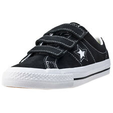 Converse One Star 3v Ox Toddler Trainers Black White New Shoes