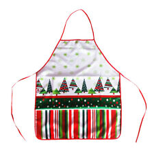 Funny Santa Claus Tree Christmas Apron Home Kitchen Catering Aprons Cooking Gift