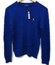 Polo Ralph Lauren Women's Cable Knit Crew Neck Sweater Pullover NWT MSRP $98.5