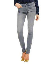 NWT JUICY COUTURE Soft Chain Embellished Gray Skinny Fit Mid Rise Jeans $188