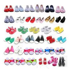 Shoes for 18 Inch American Girl Doll Shoes Flats Cavans Sneakers Clothes Dress