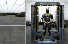 POSTER BACKDROP/SET~DARK KNIGHT~BUNKER FOR 1/6 HOT TOYS BATMAN BANE MMS236 DX02