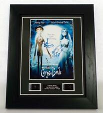 CORPSE BRIDE SIGNED PREPRINT + ORIGINAL FILM CELLS MOVIE MEMORABILIA GIFT