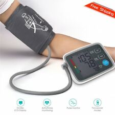 Fully Automatic Digital Upper Arm Blood Pressure Monitor Pulse Rate Testing SM