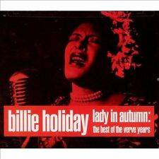 BILLIE HOLIDAY - Lady In Autumn: Best Of The Verve Years (1991 2 CD set, Verve)