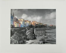 "Tenby ""The Sailing Club""  Limited Edition Mounted Photographic Print 14x11 8x6"
