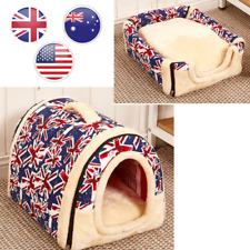 Multifuctional Dog House Nest With Mat Foldable Pet Dog Bed Cat Bed House