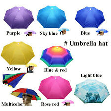 Umbrella Hat Sun Shade Camping Fishing Hiking Outdoor Foldable Headwear*