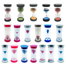 Sand Glass Dual Timers Hourglass 15/30/45/60 Minutes Kitchen Tool Special Needs