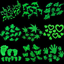 Home Wall Glow In The Dark Stickers Star Baby Kid's Bedroom Nursery Room DecorFF