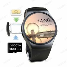 NEW KW18 Bluetooth Smart Watch SIM GSM Wrist Phone Mate For IOS Android Samsung