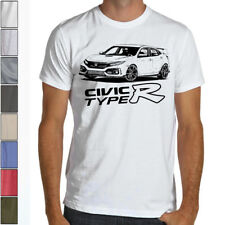 Jdm Racing Civic Type R FK8 4.5oz SOFT T-Shirt Multiple Colors&Sizes 2017 Mugen