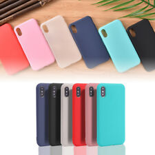 Ultra Thin Candy Color Matte Shockproof TPU Case Cover Skin For iPhone*