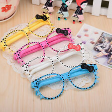 Cute Frame Kittens Creative Cartoon Ballpoint Glasses Pen Stationary Kid*