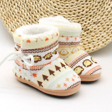 Shoes Boots Autumn Winter Warm Fleece Soft Soled For Girls Boys Toddlers Kids