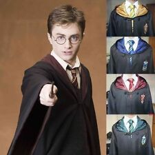 Harry Potter Cape Cosplay Costume Cloak Robe College Garment Unisex Clothing HOT