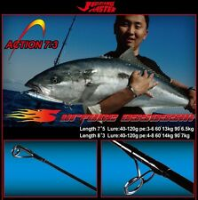 "JIGGING MASTER ULTIMATE POPPING ROD ""SURFACE ASSASSIN"" 7'5 & 8'3"