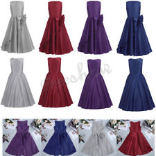 Flower Kids Girl Stain Dress Princess Pageant Wedding Formal Gown Birthday Party