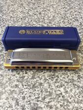 Hohner Blues Harp 10 Hole Diatonic Harmonica With Case - Various Keys