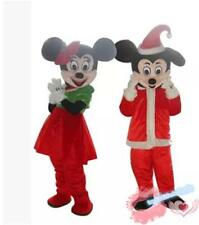 Dress Mickey and Minnie Mouse Mascot Costume Party Fancy Dress Adults Christmas