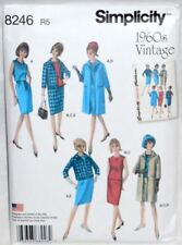 1960 Vintage Styled Dress And Coat- Simplicity 8246 (New Pattern)