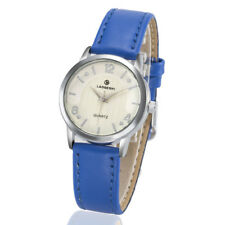 Fashion Top Casual Womens Watch Simple Genuine Leather Quartz Luxury Wristwatch
