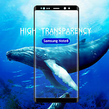 For Samsung Galaxy Note 8 Screen Protector Full Coverage Curved Tempered Glass