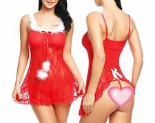 Mrs Santa Claus Costume Christmas Adult Fancy Dress Women Party Sexy Xmas Outfit