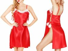 Women Santa Claus Costume Christmas Adult Fancy Dress Sexy Party Mrs Xmas Outfit