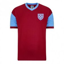 West Ham 1958 No 6 Retro Football Shirt