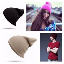 Warm Knitted Winter Hats Cotton Solid Soft Caps Skullies Beanies HIP HOP Unisex