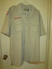 BSA/Cub, Boy & Leader Scout Newest Vented Back Uniform Sht.Slv. Shirt-Adult -19